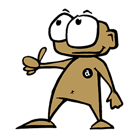 dailybuttons Maskottchen