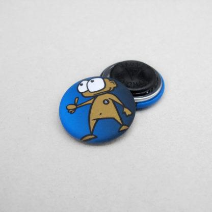 25mm Buttons Kleidungsmagnet MATT
