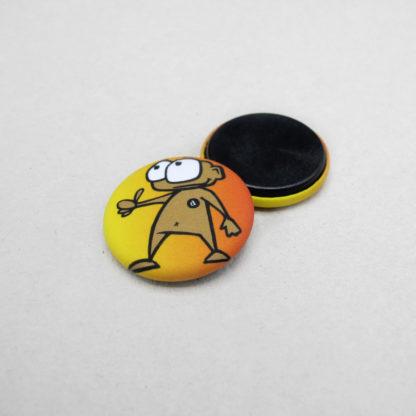 25mm Buttons Magnet MATT