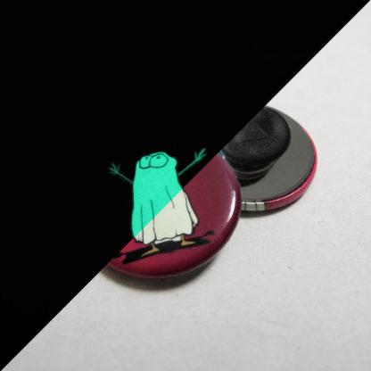 31mm Buttons Kleidungsmagnet GLOW