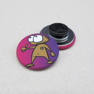 31mm Buttons Clothing Magnet MATTE