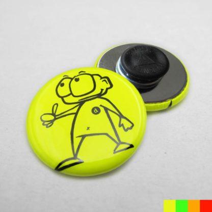 31mm Buttons Kleidungsmagnet NEON