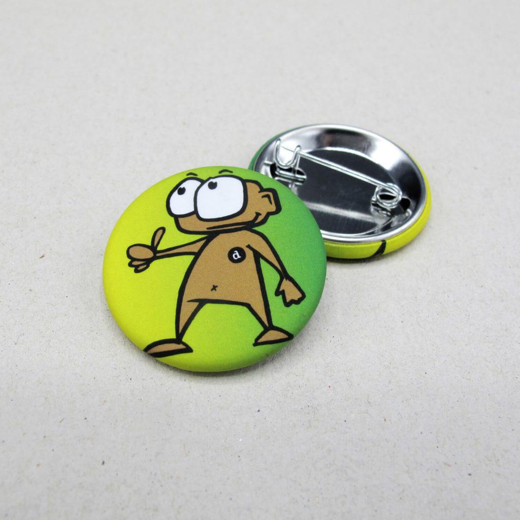 31mm Buttons / Nadel / MATT
