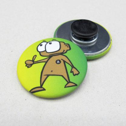 37mm Buttons Kleidungsmagnet MATT