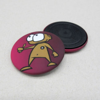37mm Buttons Magnet MATT