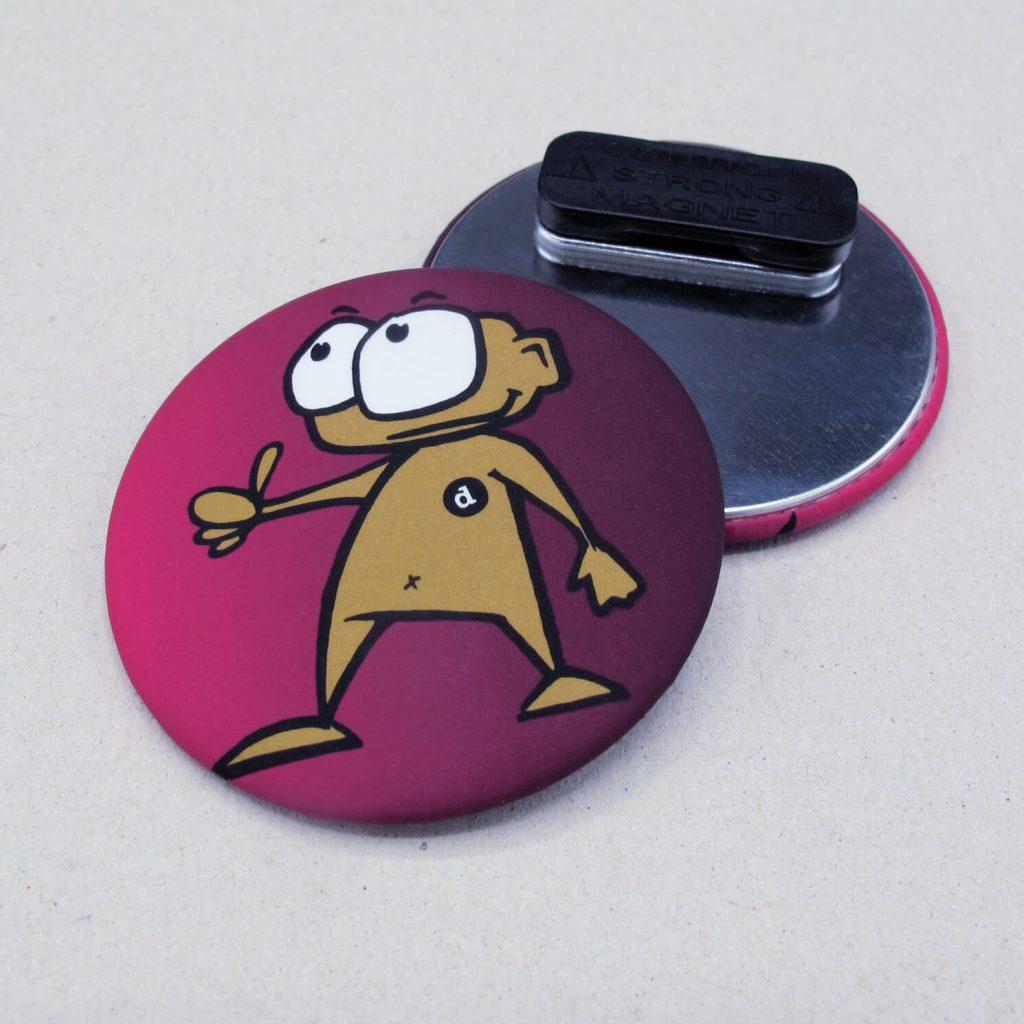 56mm Buttons mit Kleidungsmagnet