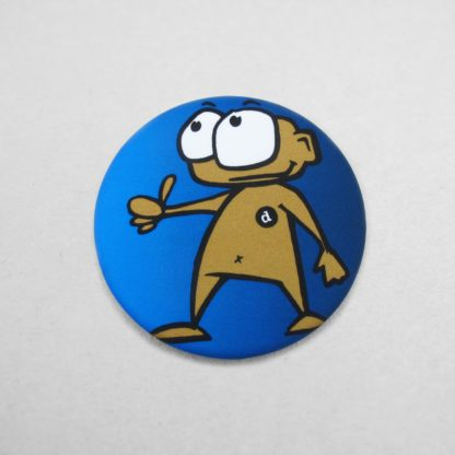 44mm Buttons Clothing Magnet MATT Front