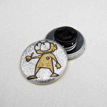 31mm Buttons Glitzer Kleidungsmagnet