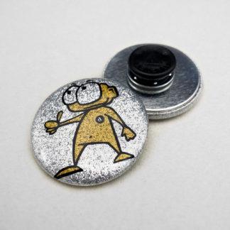 37mm Buttons Glitzer Kleidungsmagnet