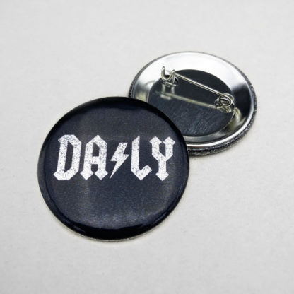 dailybuttons ACDC Logo Glitzer