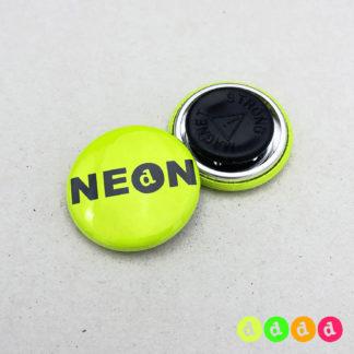 25mm Buttons NEON Kleidungsmagnet