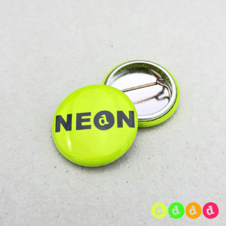 25mm Buttons NEON Nadel