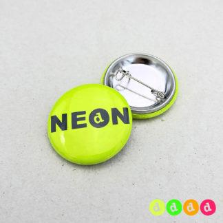25mm Buttons NEON Sicherheitsnadel