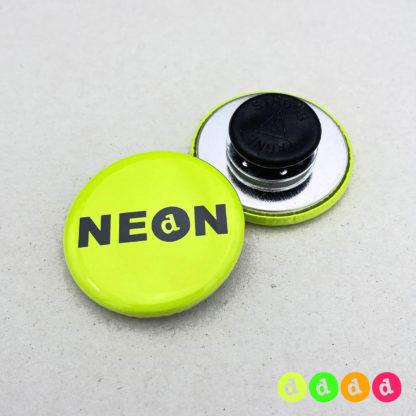 31mm Buttons NEON Kleidungsmagnet