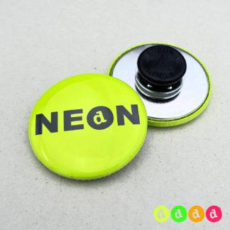 37mm Buttons NEON Kleidungsmagnet
