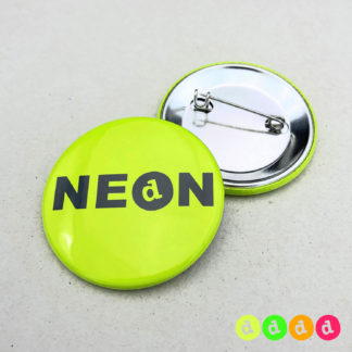 37mm Buttons NEON Nadel