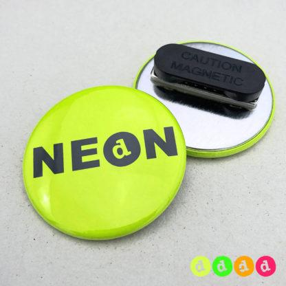 44mm Buttons NEON Kleidungsmagnet