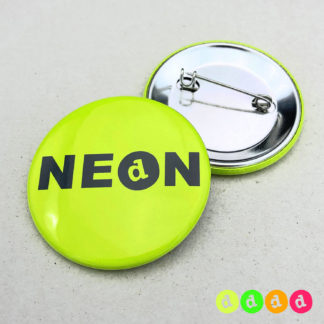 44mm Buttons NEON Nadel