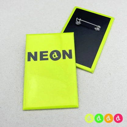 44x68mm Buttons (H) NEON Nadel