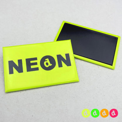 44x68mm Buttons NEON Magnet