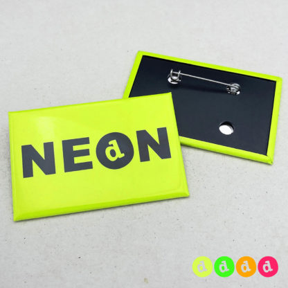 44x68mm Buttons NEON Nadel