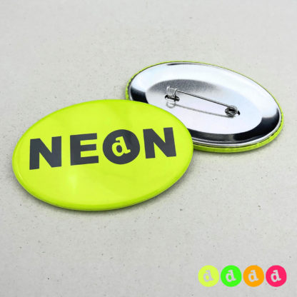 44x68mm Buttons Oval NEON Nadel