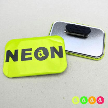 50x76mm Buttons NEON Kleidungsmagnet