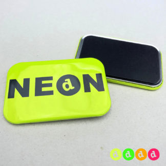 50x76mm Buttons NEON Magnet