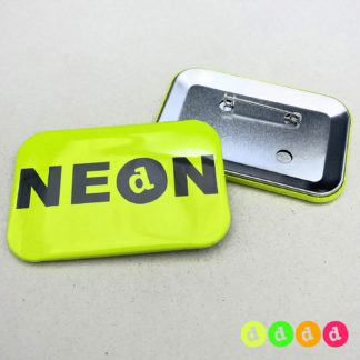 50x76mm Buttons NEON Nadel
