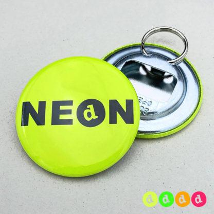 56mm Buttons NEON Flaschenöffner Ring