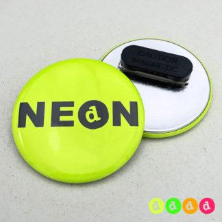 56mm Buttons NEON Kleidungsmagnet