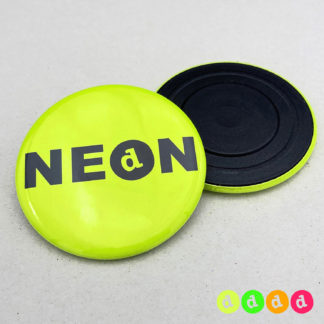 56mm Buttons NEON Magnet