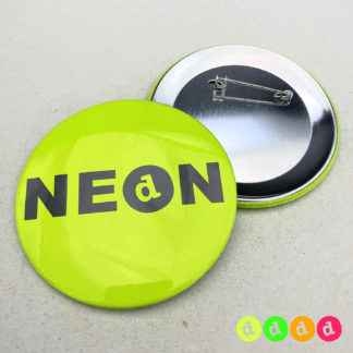 75mm Buttons NEON Nadel