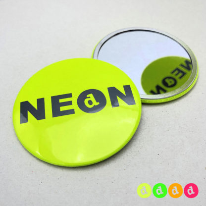 75mm Buttons NEON Spiegel