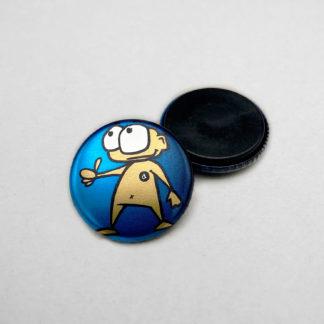 25mm Buttons Magnet METALLIC