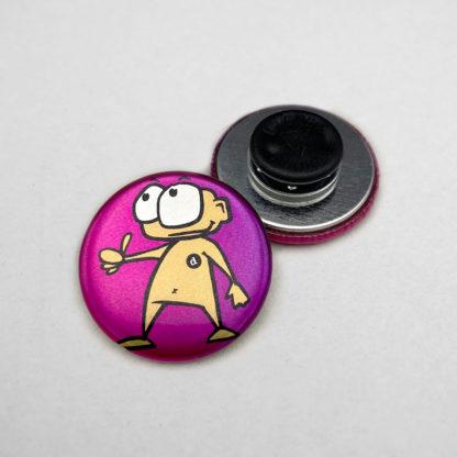 31mm Buttons Kleidungsmagnet METALLIC