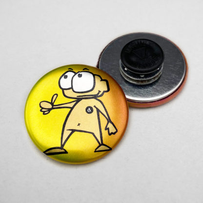 37mm Buttons Kleidungsmagnet METALLIC