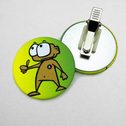 44mm Buttons Clip MATT