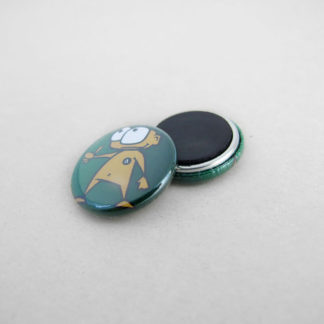 25mm Buttons mit Magnet