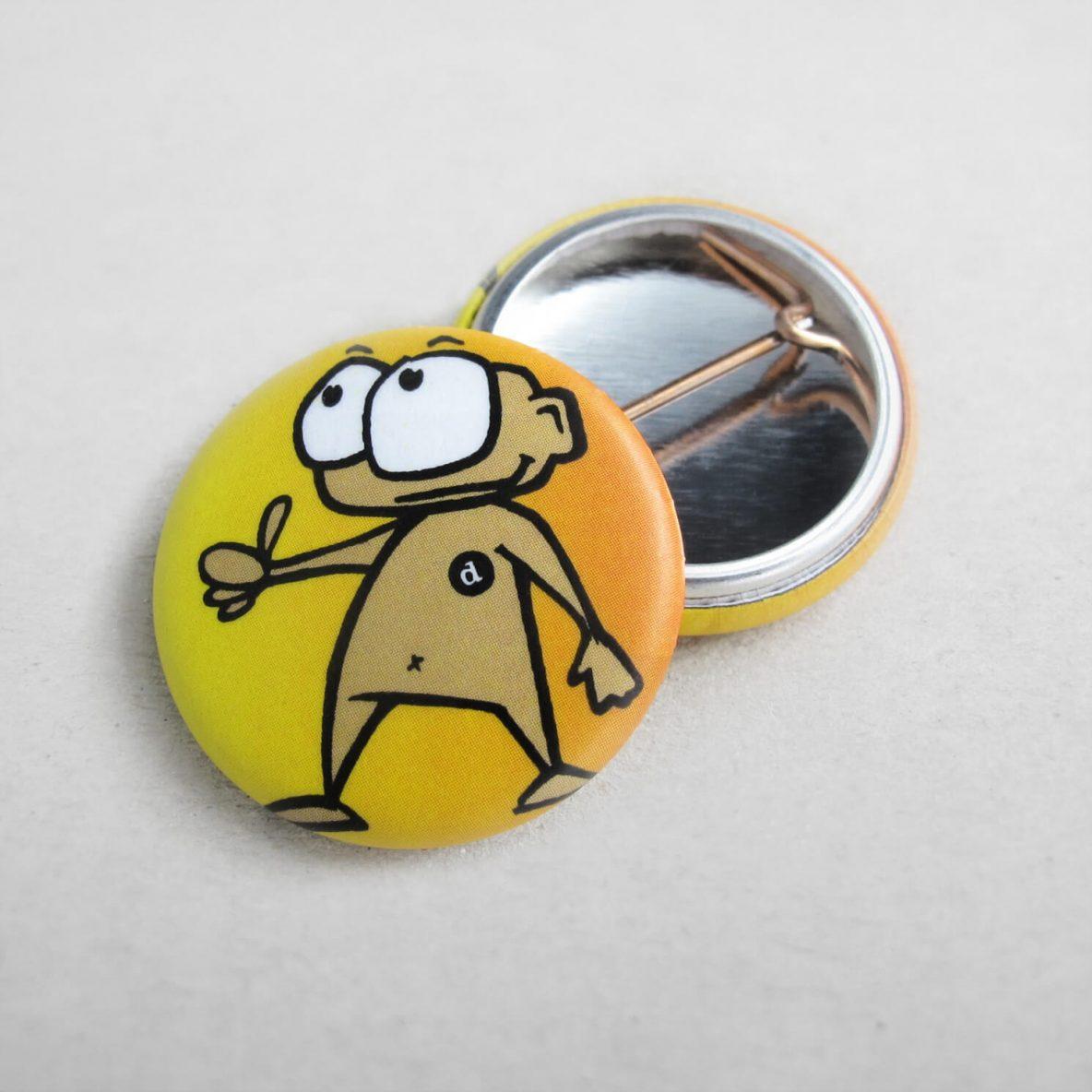 25mm Buttons Matt