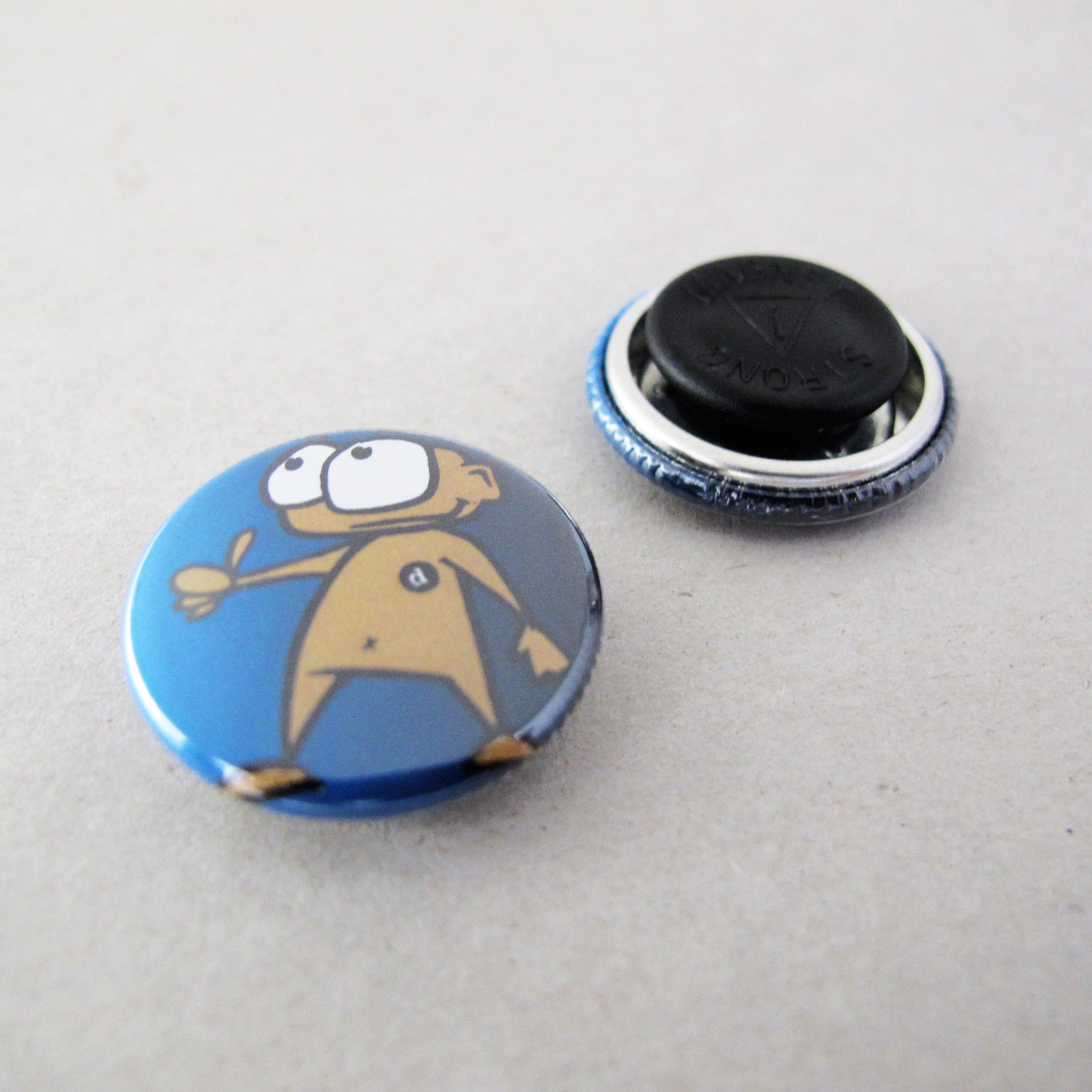 25mm Button Clothing Magnet