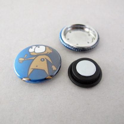 25mm Buttons Kleidungsmagnet-NEU