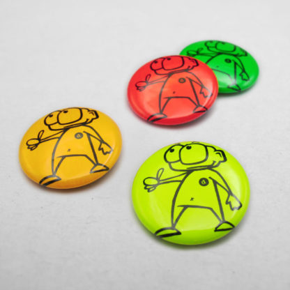 25mm Buttons NEON