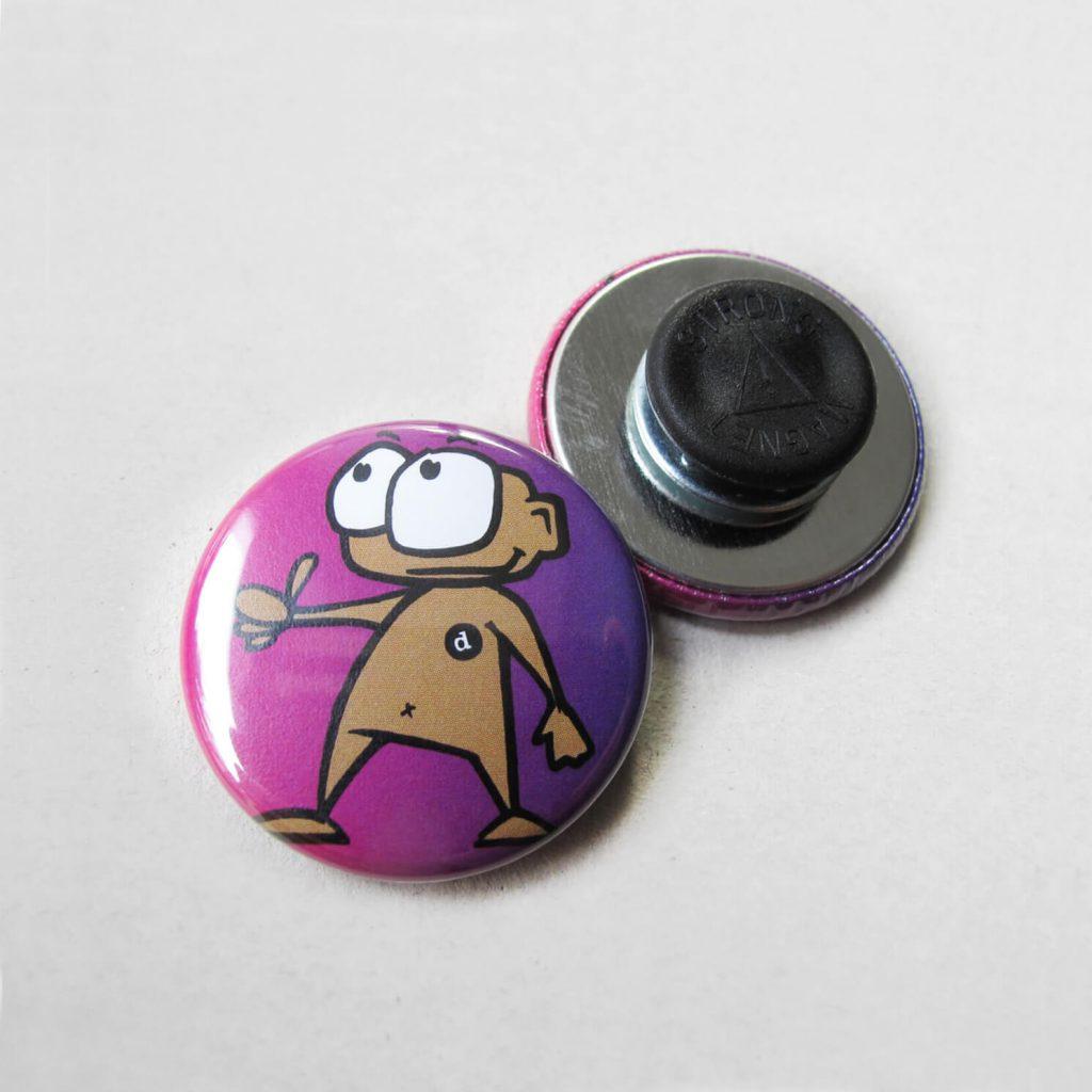 31mm Buttons mit Kleidungsmagnet