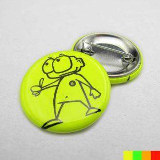 31mm Buttons NEONGELB