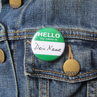 37mm Buttons Nametag