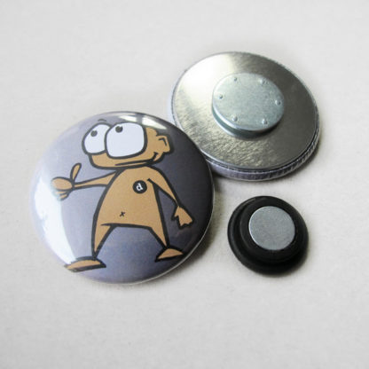 37mm Button Clothing Magnet 2