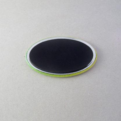 44x68mm Buttons Oval mit Magnet (Rückseite)