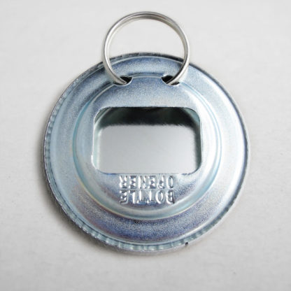 56mm Buttons / Bottle Opener with Keyring Back