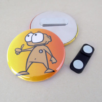 56mm Button Clothing Magnet